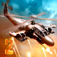 Heli Invasion 2 -- stop helicopter with rocket