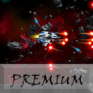 Space Shooter : AsaP Bullet Hell white