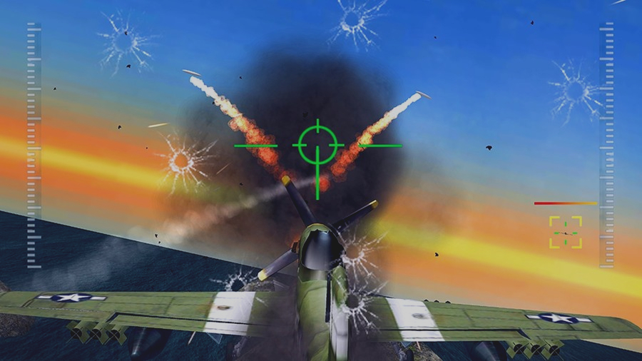 Скриншот 3D WW2 Pacific Fighter Attack