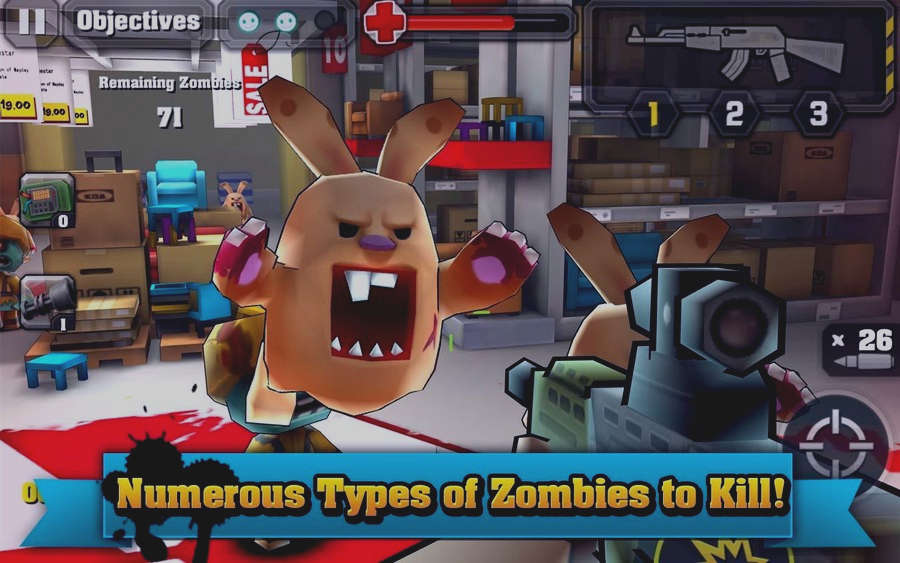 Скриншот Action of Mayday: Zombie World