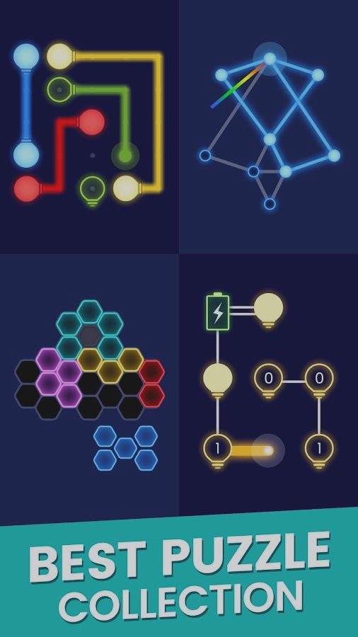 Скриншот Color Glow : Puzzle Collection