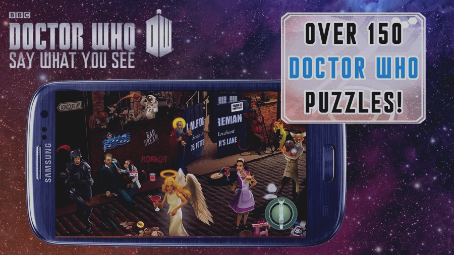 Скриншот Doctor Who: Say What You See