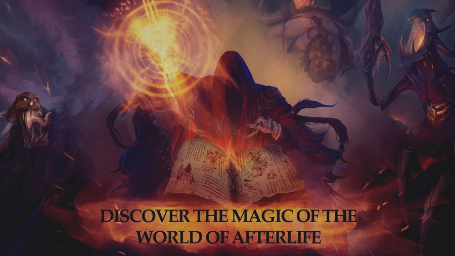 Скриншот Afterlife: RPG Clicker CCG