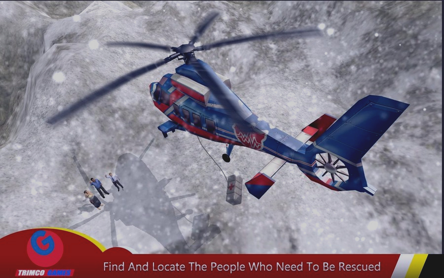 Скриншот Helicopter Hill Rescue 2016