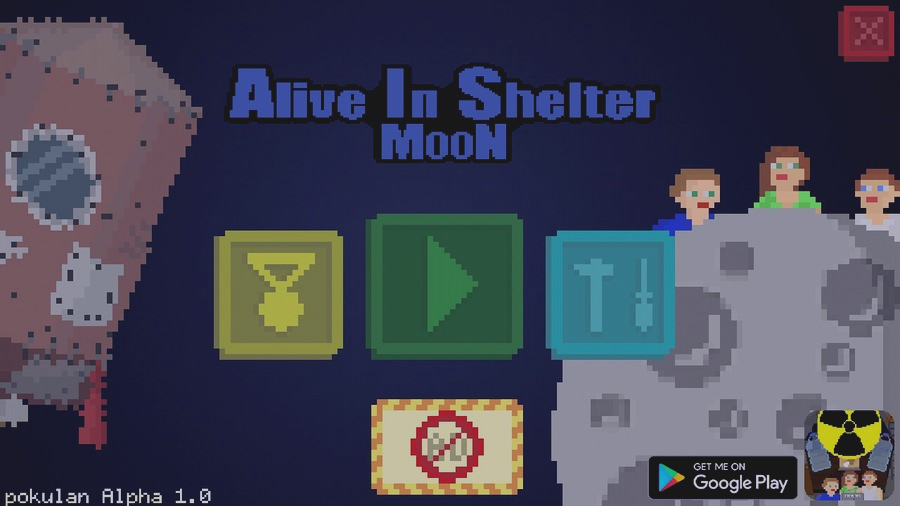 Скриншот Alive In Shelter: Moon