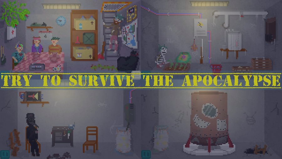 Скриншот Alive In Shelter