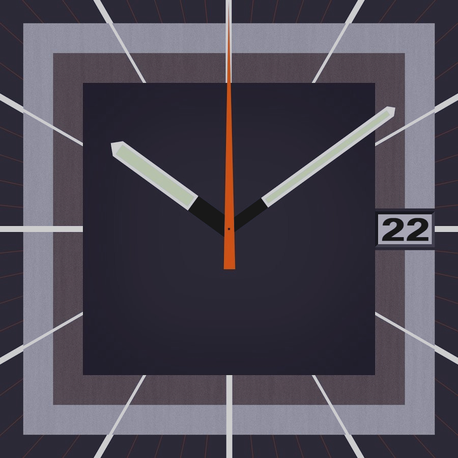Скриншот 70s watchface for Android Wear